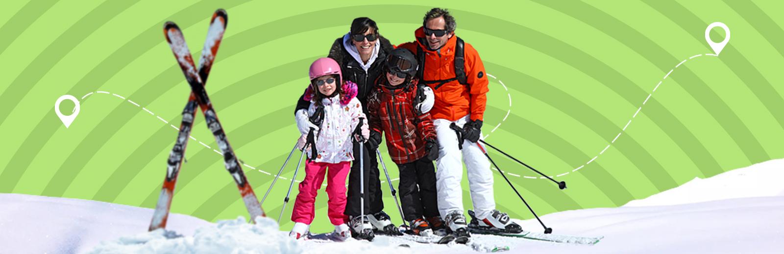 Делегирование задач: найти лыжные трассы в Москве